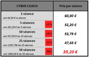 coach en ligne tarifs 2