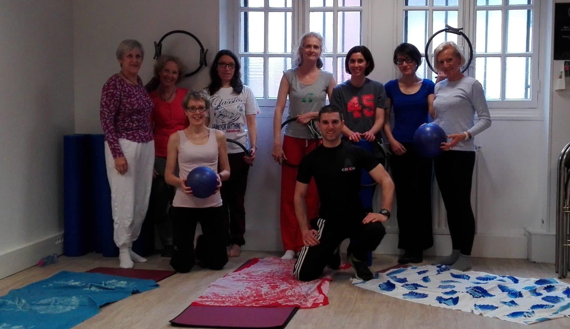 cours collectifs de pilates à saint-etienne - Perf&fit au studio villemagne