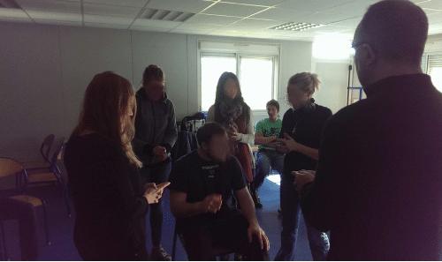CORPORATE Team-building de cohésion confiance coopération Perf&fit jeu de la chaise