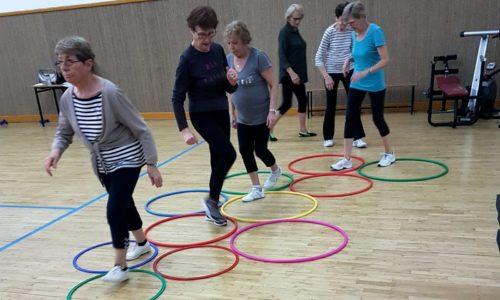 Gym senior Unieux equilibre prévention des chutes renforcement musculaire