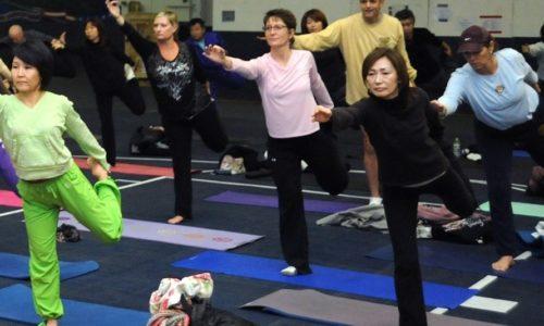 Gym senior Unieux posture et équilibre